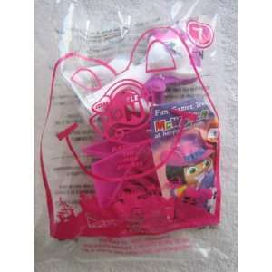 McDonalds 2011 My Little Pony #7 Rarity Happy Meal Toy