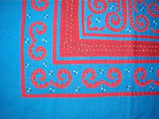 LARGE REVERSE APPLIQUE TABLE SQUARE SCARF RUNNER QUILT