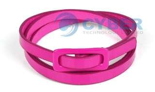 Candy Adjustable Waist Narrow Thin Skinny Leather Belt
