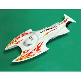 Electric Ready to Run RC Boat Radio Control (Twin Fiberglass Hull