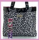 New 2011 Nicole Polizzi SNOOKI EDP Spray 3.3oz + Leopard Tote Bag 2pcs