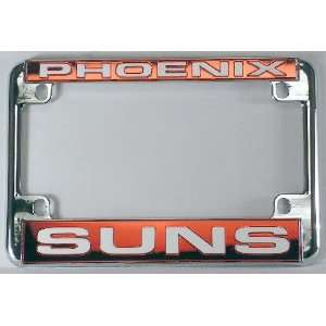 Suns Chrome Motorcycle RV License Plate Frame
