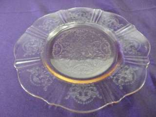 DEPRESSION GLASS MACBETH EVANS AMERICAN SWEETHEART PINK BREAD & BUTTER