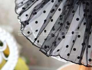 Girls Black Dance Party Leotard Ballet Tutu Dress 2 7Y
