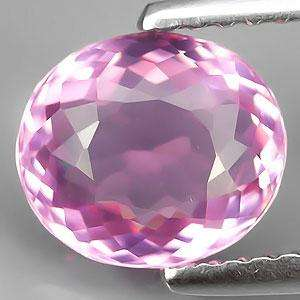 47ct Flawless Oval Pink Tourmaline 100% Natural Mozambique