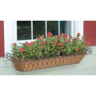 Design Window Planter Box Antique Green Patio, Lawn & Garden