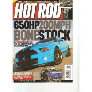 Hot Rod Magazine (March 2012) Various  Books