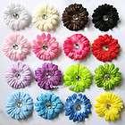 16pcs Mini 2inch daisy flower baby hair bows clip headband kfqegi yz16