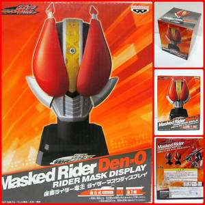 Banpresto Kamen Masked Rider Den O Mask Display Head★