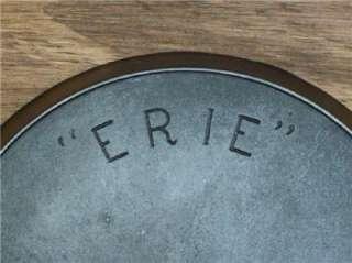 PRE   GRISWOLD ERIE #9 CAST IRON SKILLET c.1886 L@@K NICE