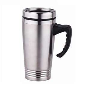 Stainless Steel Insulated Travel Coffee Mug 16 OZ  Kitchen