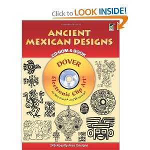 Ancient Mexican Designs CD ROM and Book (Dover Electronic Clip Art