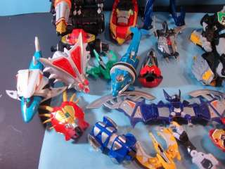 Up for auction are some Power ranger megazord parts. See pictures for