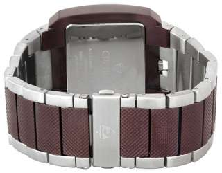 Croton Stainless Steel Large Day Date Watch NEW 609722461962