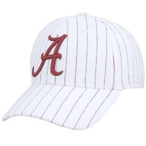 World Alabama Crimson Tide White Baller One Fit Hat