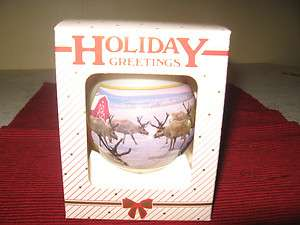2002 New Holland (Ford) Tractor Christmas Ball Ornament New With Box