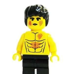 Bruce Lee   miniBIGS Custom Minifigure  Toys & Games