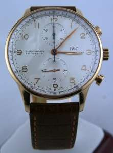 Portuguese Automatic Chronograph 18kt Solid Rose Gold IW3714 80