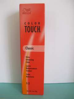 Wella Color Touch Permanent Hair Color #2 |