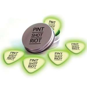 Pint Shot Riot 5 X Glow In The Dark Premium Guitar Picks