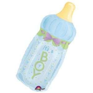 Baby Balloons   Its A Boy Baby Bottle Mini Shape Health