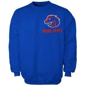 BSU Bronco Hoody Sweat Shirt  Boise State Broncos Royal