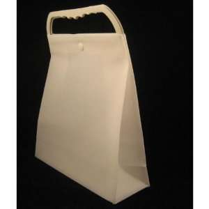 White Plastic Gift Bags Case Pack 120