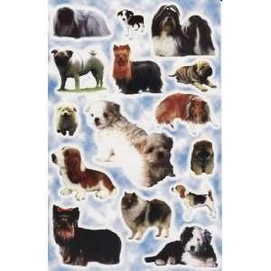 THE DOG Puppy Animal Vinyl Decal Sticker Sheet P20