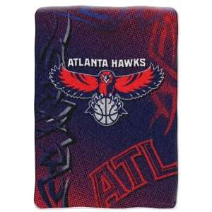 Atlanta Hawks 60x 80 Super Plush Throw Fierce Series