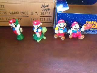 NES Vintage 1989 Super Mario Bros Applause Pvc set of 4