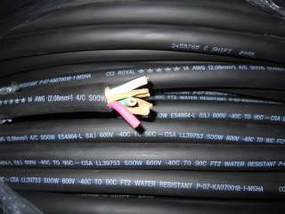 50 SOOW 14/4 CABLE PORTABLE INDOOR/OUTDOOR WIRE USA