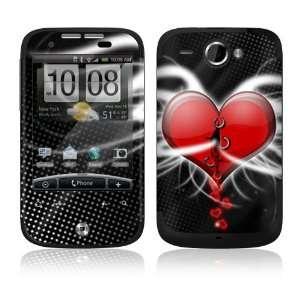 Devil Heart Decorative Skin Cover Decal Sticker for HTC