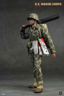 Soldier Story US Marines Corps M1917A1 Machine Gunner