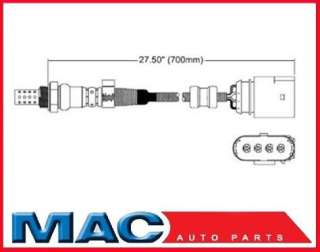 2000 2003 Jetta & Golf O2 Oxygen Sensor Rear Direct Fit