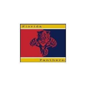 NHL Hockey Florida Panthers 60X50 All Star Blanket/Throw   Fan Shop