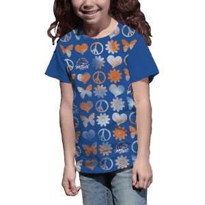 NCAA Boise State Broncos Girls Hippy Chic Crew Tee Shirt