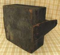 Primitive Antique Wooden Farriers Tool Box All Original Great Patina