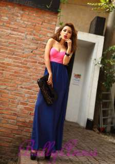 Maxi Long Prom Gown Tube Cocktail Evening Party Club Dress