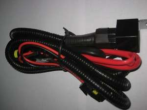 Xenon HID Conversion Kit Relay Wiring Harness For 9006