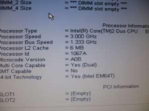 DELL OPTIPLEX 760 CORE 2 DUO E8600 3GHZ 3GB 80GB DVD/CD RW COMBO DRIVE