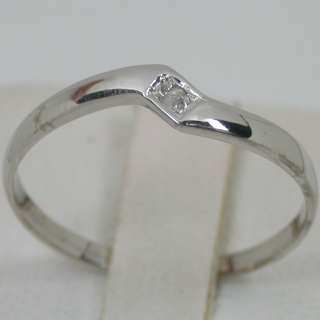 02 CARATS 14K SOLID WHITE GOLD NATURAL WHITE SI1 DIAMOND SOLITAIRE