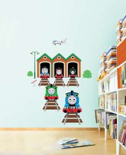 THOMAS THE TRAIN FRIENDS Adhesive Removable Wall Decor Accent Sticker