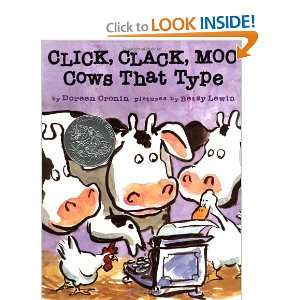 Click, Clack, Moo Cows That Type (9781416903482) Doreen