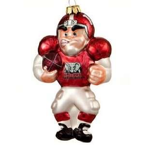 Alabama Football Player Christmas Ornament