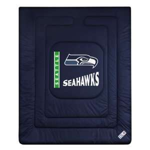 Seattle Seahawks Comforter Full Queen Sports & Outdoors