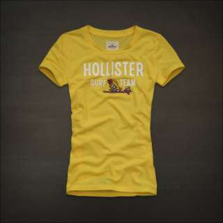 2012 NEW Hollister by Abercrombie womens CAPISTRANO Graphic Tee T