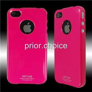 NEW HOT PINK ULTRA THIN SMOOTH UV CRYSTAL HARD CASE COVER FOR APPLE
