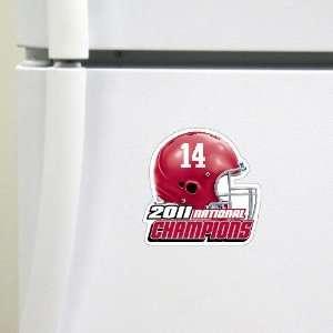 NCAA Alabama Crimson Tide 2011 BCS National Champions HD Magnet