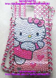 Hello kitty Bling Case Cover For Samsung Infuse 4G i997 #1