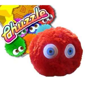 Chuzzle Soft Plush Doll Toy   5 inches RED Toys & Games